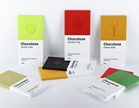 Chocotone. Candy chocolate bars.