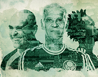 Arte Conceito - Palmeiras, o maior campeão do Brasil