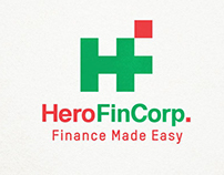 Hero FinCorp. Infographic