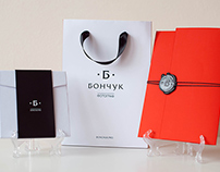 Brand for photographer Bonchuk