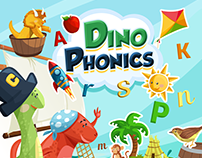 Dino Phonics - iOS App for Children