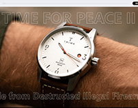 TIME FOR PEACE 2 onepage design