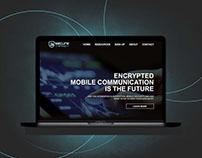 Webinar Landing Page Design for Secure Group