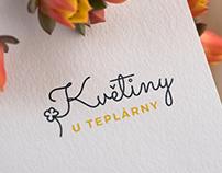 Logo Design (client: Květiny U Teplárny)
