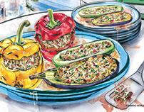 Illustrations for Slimming World