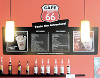 Route 66 Cafe - Lakatamia