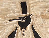 Manchot (gravure)