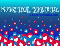 Social Media Aaron's Insurance.