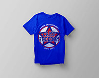 Camp Freedom T-Shirt 10th Anniversary 2014