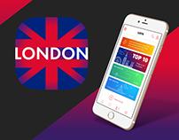 London Travel Guide mobile app