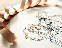 Paper Art Illustrations in 3D