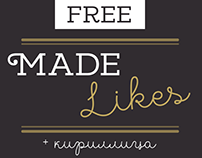 MADE Likes | Free Font