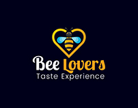 Bee Lovers Logo Design