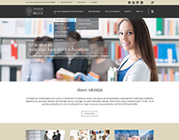 WEBSITE LAYOUT DESIGN - ASHRIDGE