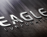 Eagle Corporation Logo Design