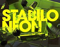 STABLIO NEON package design