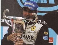 Luis Pérez Companc, ganador de la FIA GT 2008—parte 1