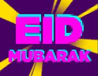 "EID Mubarak ""FLUID"""