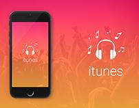 Music App - Ui/Ux Design - iOS App