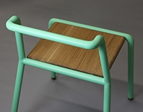 PUGH, Chair for in- or outdoor use