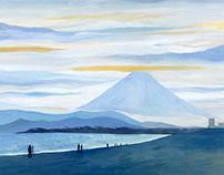 landscape of the seaside 2 (japan)