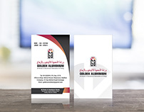 Golden Aluminium_Business Card