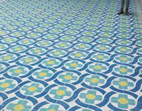 Floors Installation 'Isatis Tinctoria' (Azores)