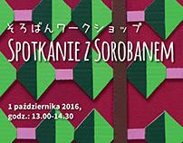 Spotkanie z Sorobanem - plakat i ulotka