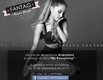 Estrategia Digital para Para fans de Ariana Grande UM