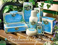 Derbe: Fiori bianchi e Foglie Verdi - packaging