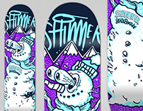 Shimmer skateboard