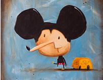 !!!NEW - Myszka Miki idzie do Ameryki