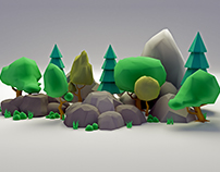Low-poly Assets