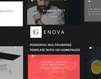 Genova - Creative Multiuse Template
