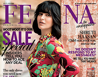 Shruti Haasan Cover Shoot