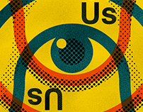 Spy On Us - Poster design