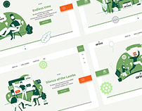 ANIOZ| landing page redesign | Illustration| Design
