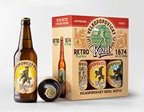 Kozel retro collection