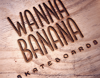 WannaBanana Custom Skateboards