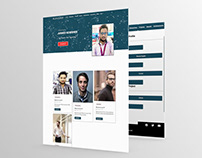 Personal Website Making for my client