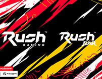 Rush Gaming / Rush BAR : Branding & Social Media