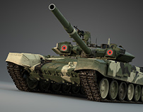 T-90S Russian MBT
