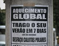 Anúncio Revista - Aquecimento Global