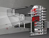 Multiplex center Slavija - Master project M6