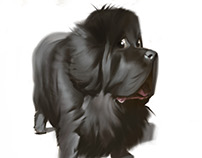 More dog caricatures.