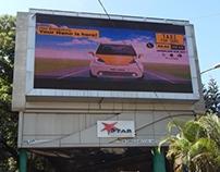 Digital Billboard Design - TFS Nano Launch