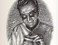 E.H. Bronner Portrait Illustration by Steven Noble