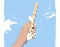 Feelings of Summer Magazine illustrations