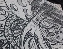 Doodle Storm Planet - Wilmai