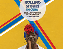Stones in Havana // Poster Design